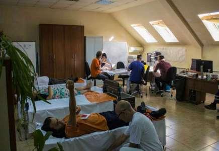 Radnici Higijene dali krv i privremeno ublažili nestašicu krvi