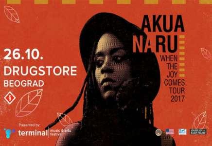Akua Naru 26. oktobra u klubu Drugstore Beograd (VIDEO)