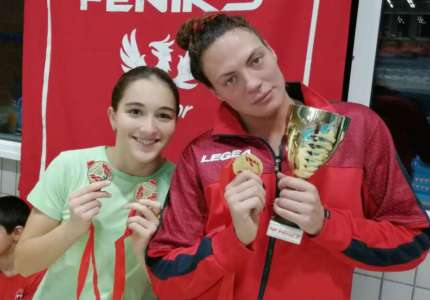 PK Sparta: Zlatne medalje za Jovanu Bogdanović i Dunju Stoev