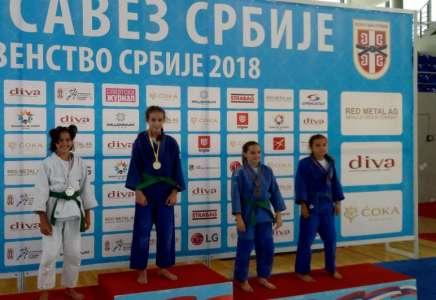 Pet medalja za Pančevce na Prvenstvu Srbije za mlađe pionire