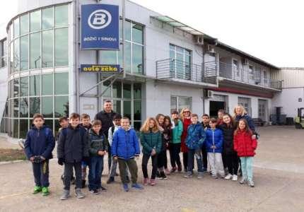 Osnovci iz Pančeva posetili Kompaniju Božić i sinovi