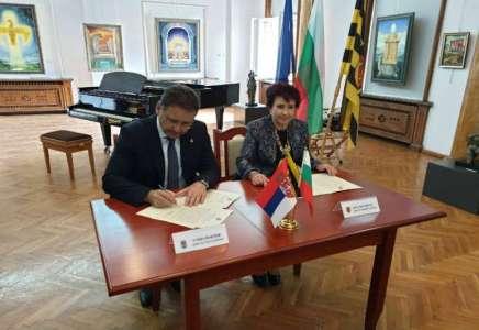 Potpisan Memorandum o saradnji između grada Pančeva i opštine Pernik, Bugarska