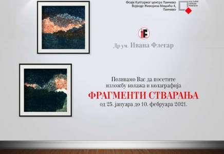 "Izložba grafika ""Fragmenti stvaranja"" u Kulturnom centru"
