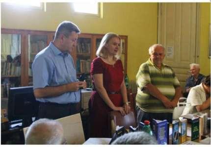 """""""Libertateina"""" nagrada za knjigu godine Rodiki Ursulesku Miličić"""