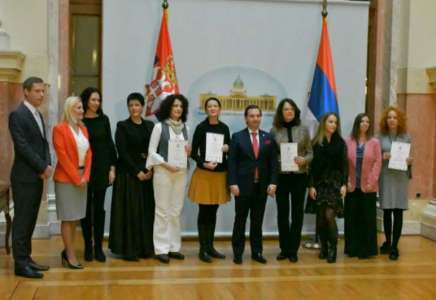 Katarina Mandić iz Pančeva nagrađena za najbolju tkanu minijaturu