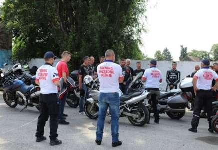 Besplatni trening bezbedne vožnje za motocikliste u Pančevu