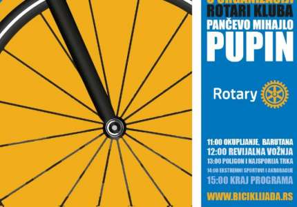"""""""Biciklijada"""" Rotari kluba """"Mihajlo Pupin"""" biće održana 18. septembra"""