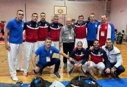 Karate reprezentacija Srbije ekipno zlatna na Prvenstvu Balkana u Hrvatskoj