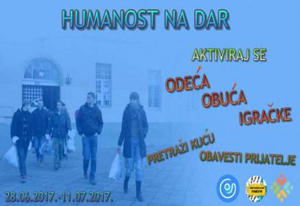 """Humanitarna akcija """"Humanost na dar"""""""