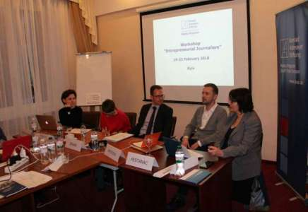 Pančevo MOJKraj predstavljeno u Ukrajini kao primer dobre prakse u oblasti preduzetničkog novinarstva