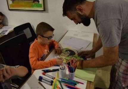 Pančevac Nikola Dragaš održao prvu školu karikature u Gračanici