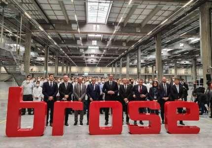 Otvorena fabrika BROSE u Pančevu: zaposleno prvih 350 radnika
