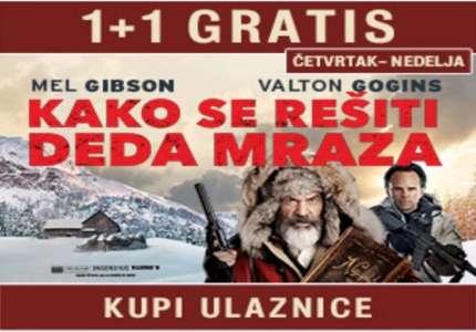 """Akcija u Cinestaru: pogledaj akcionu komediju """"Kako se rešiti Deda mraza"""" uz božićnu bioskopsku uštedu 1+1 gratis"""