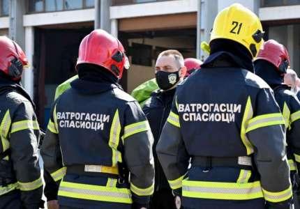 Vatrogasci u Pančevu uvežbavali intervenciju sa opasnim materijama