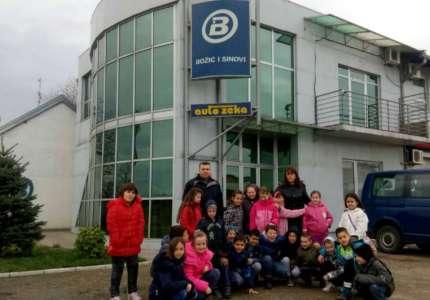 """Dečji zeleni karavan"" u reciklažnom centru u Omoljici"
