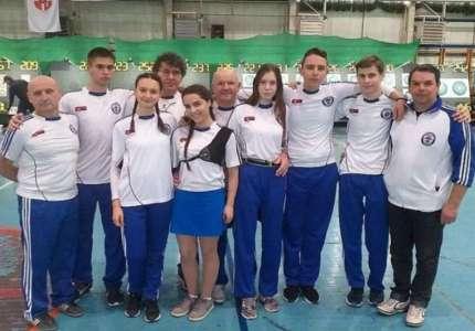 Streličarstvo: Prvaci Srbije iz Pančeva Andreev Lazar i Marija Ljubinković