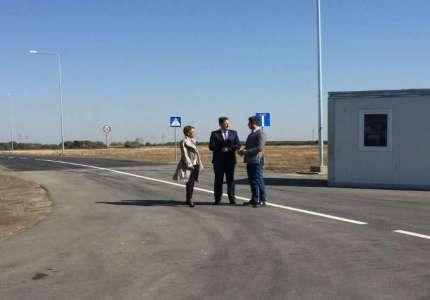 Završena izgradnja saobraćajnice u Severnoj poslovnoj zoni u Pančevu