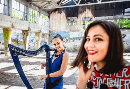 Željka i Julijana: Harfa i vokal u elektro izdanju (VIDEO)