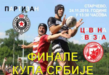 Starčevo domaćin finala Kupa Srbije u ragbiju