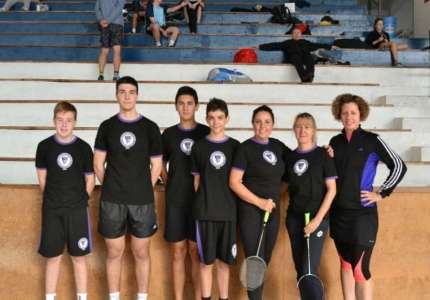 Badminton klub Pančevo: pet medalja za mlade takmičare