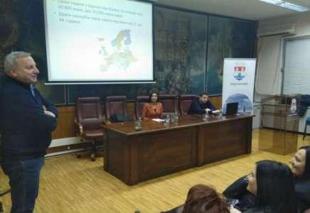 U Pančevu održano predavanje o prevenciji raka grlića materice