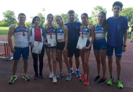 """Šest medalja za atletičare """"Dinama"""" na Otvorenom prvenstvu Beograda"""
