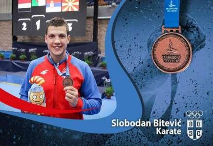 Slobodan Bitević osvojio bronzu na Mediteranskim igrama