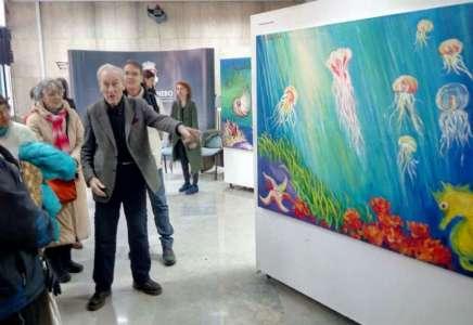 """Izložba """"Podvodni svet"""" Alfreda Pezelja"""