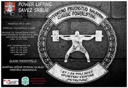 Pančevci na Prvenstvu Balkana u powerliftingu