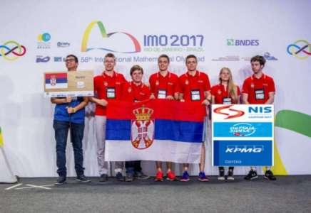 Srebro za Ognjena Tošića na Matematičkoj olimpijadi