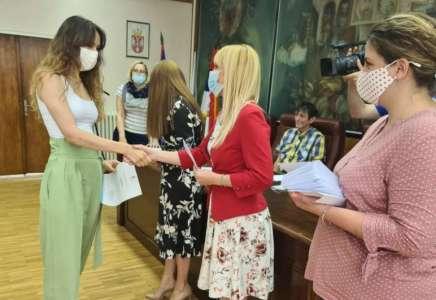 Grad Pančevo uručio nagrade najboljim studentima