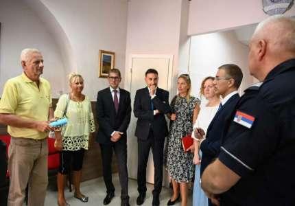 Ministar Stefanović obišao Kuću bezbednosti u Pančevu