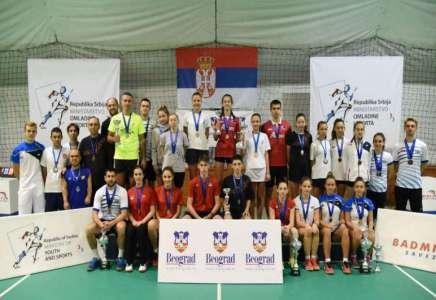 Badminton: osam medalja za učesnike iz pančevačkih klubova