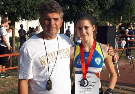 Atletika: Marija Mrkela dvostruki vicešampion Srbije