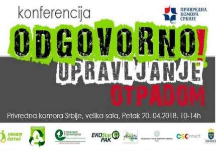 """Konferencija """"Odgovorno upravljanje otpadom"""" u Beogradu"""