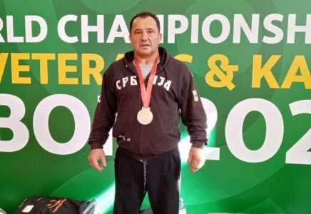 Džudista Slavko Stanišić svetski šampion: veteran donosi zlato iz Portugala