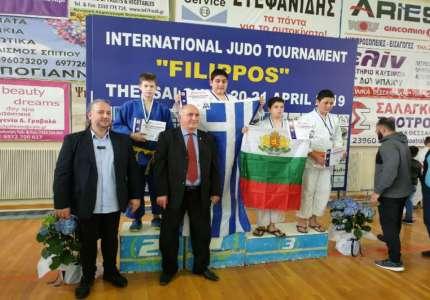 Srebro za Petra Novakovića na džudo turniru u Solunu