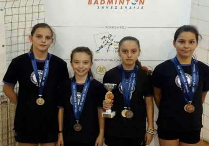 Badminton: šest medalja na Trofeju Beograda