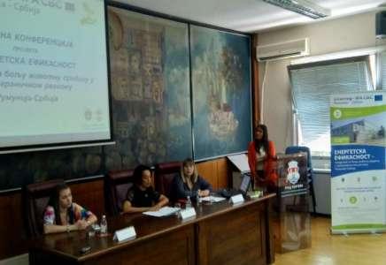 Održana završna konferencija prekograničnog projekta o energetskoj efikasnosti