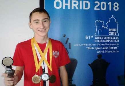 Treća uzastopna svetska titula za Iliju Serafimovića