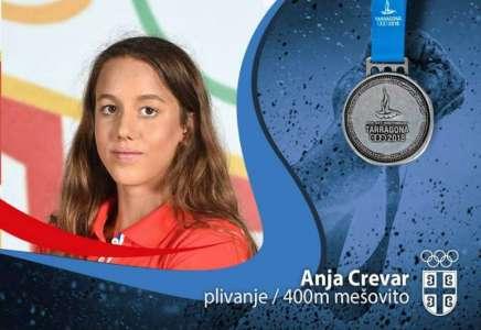 Srebro za Anju Crevar na Mediteranskim igrama