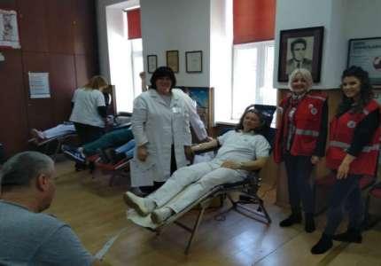 Gradska akcija dobrovoljnog davanja krvi svake srede od 9 do 12 sati