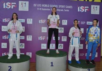 Svetsko školsko prvenstvo u karateu održano u Pančevu