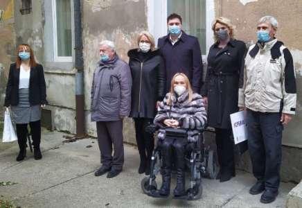 Ministarska Kisić Tepavčević obišla Savez slepih u Pančevu