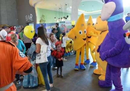 Velika posećenost Prvog dečjeg festivala u Cinestaru