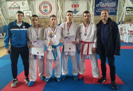 Karate klub Dinamo vicešampion Premijer lige Srbije za 2019. godinu