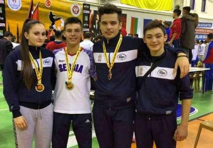 """Tri medalje za """"Koloseum"""" na Balkanskom prvenstvu"""