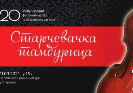 "Festival ""Starčevačka tamburica"" 11. septembra"
