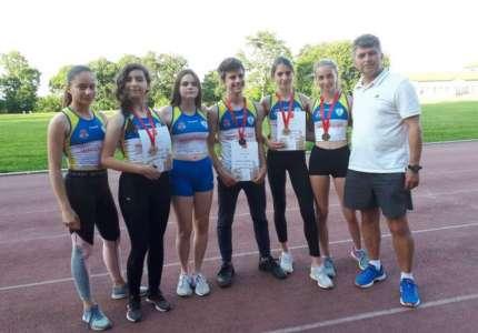"""AK """"Dinamo"""": četiri medalje na Otvorenom prvenstvu Beograda za pionire"""