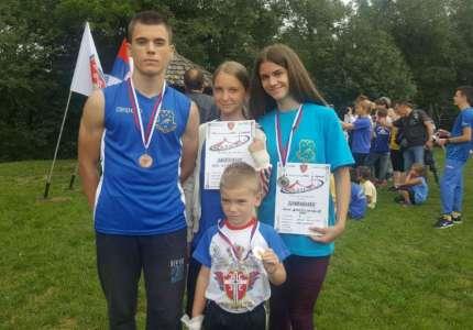 Tri medalje za atletičare Panonije